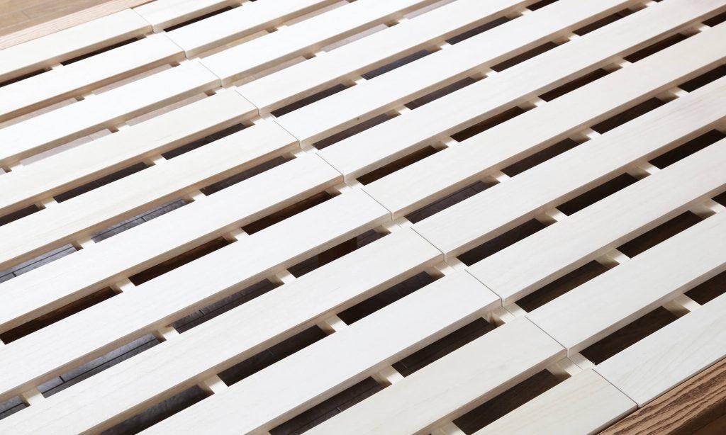 床板がすのこになっているタイプは通気性が良くカビが発生しにくいため長く使い続けることができます