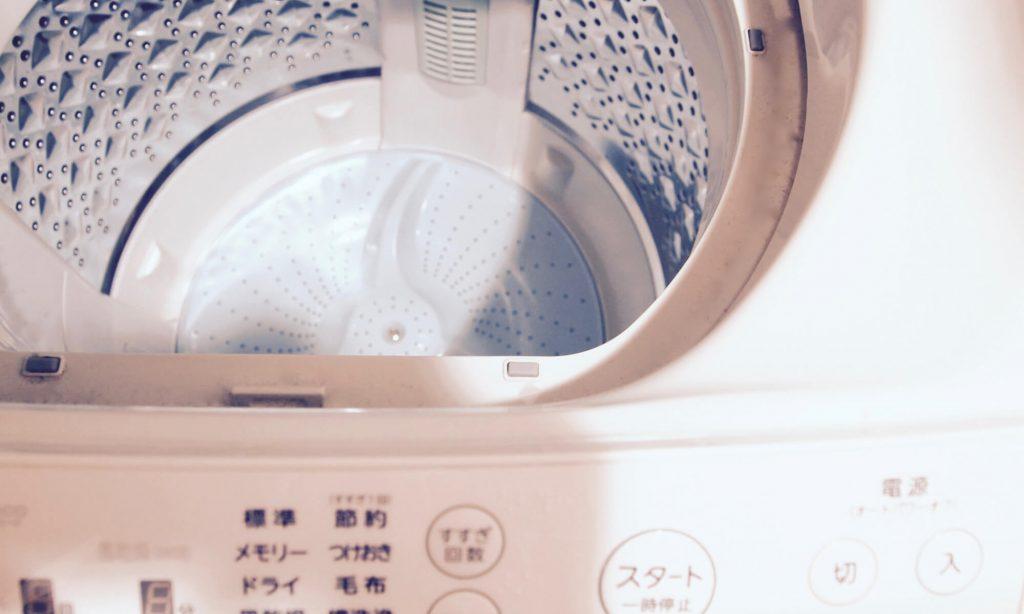 枕を自宅の洗濯機で洗濯する場合の手順