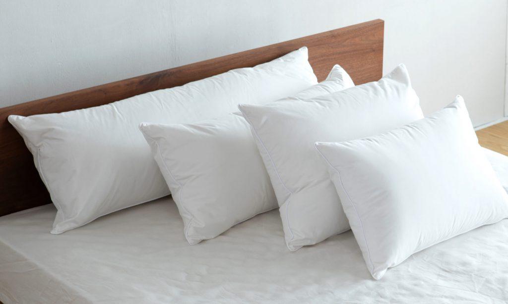 枕の大きさにはいくつか種類があり最も一般的なのは縦43cm×横63cmの枕