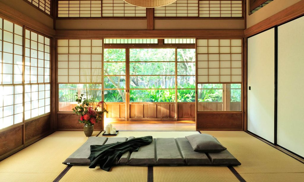 テンピュールフトンシリーズは畳の上に直接敷いて使えるため、普段使いはもちろん来客時の寝具としても重宝します