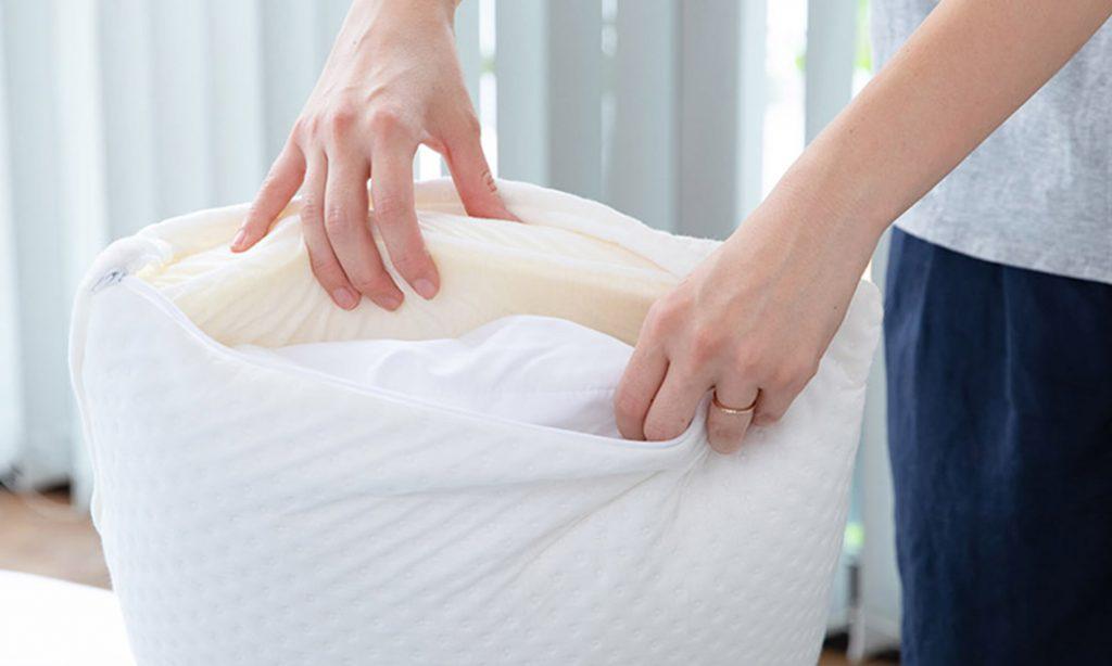 自分の体に合った適度な硬さの枕を選ぶことが大切