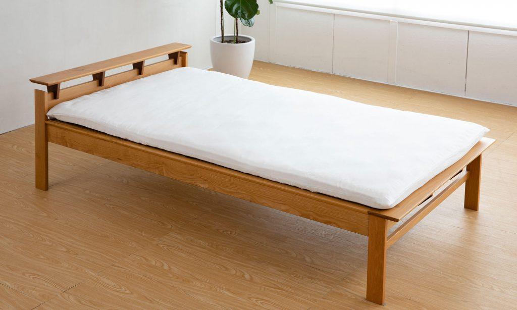 畳ベッドの上には通常畳の部屋で使うような一般的な和タイプの敷布団を使用しましょう。