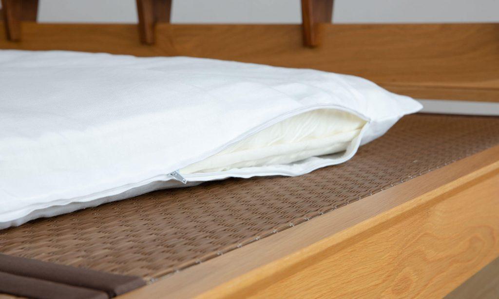 畳ベッドは敷き布団との相性がよい。