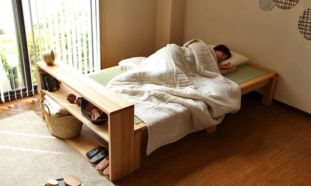硬めの寝心地を得たい人にとって、畳ベッドはぴったり!