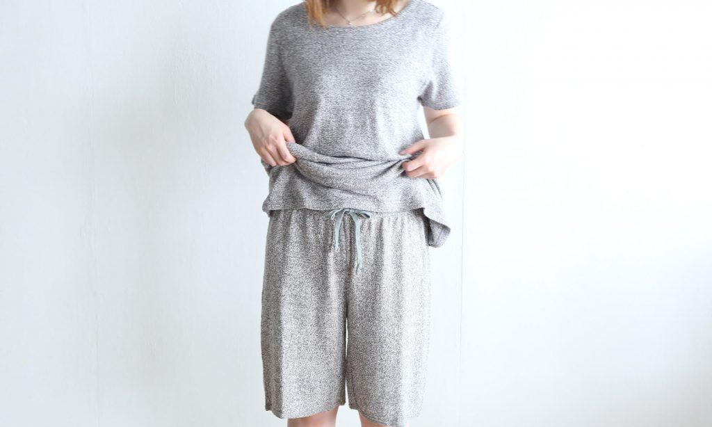 Tシャツやスウェットのような感覚で着たい人におすすめのかぶりタイプのパジャマ