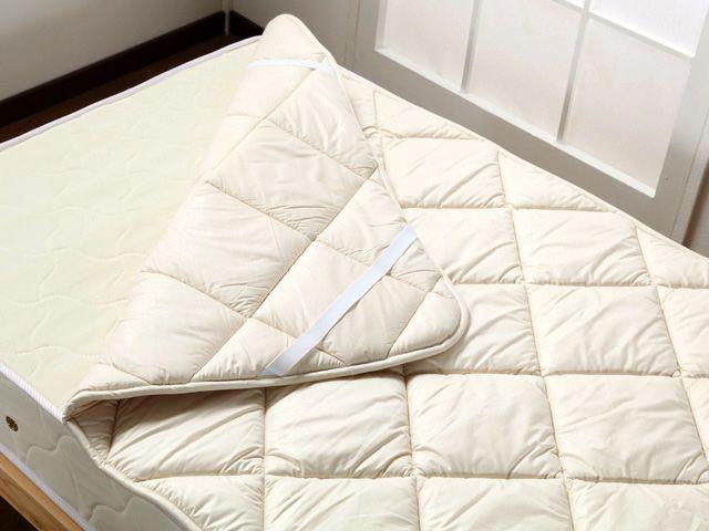 ウォッシャブル ウールパッド(ベッドパッド)の商品ページはこちら