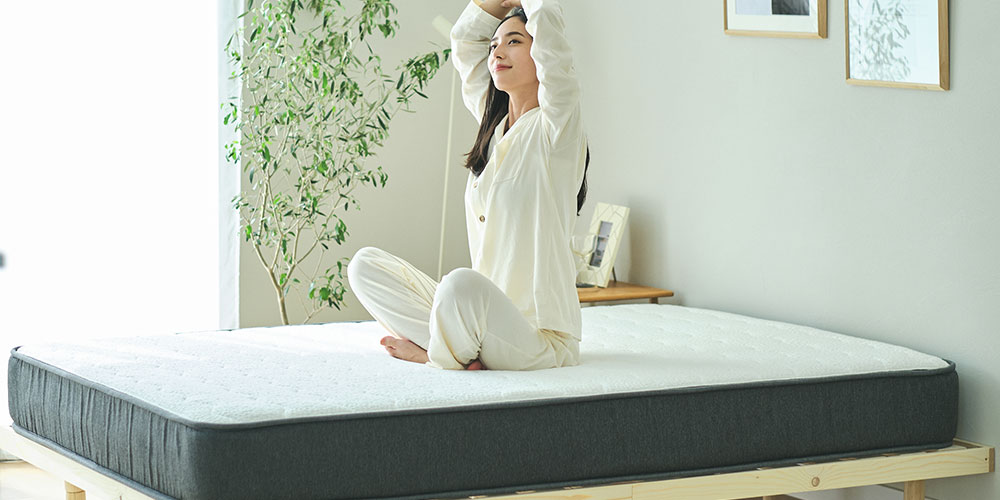 寝返りのしやすさと最高の寝心地を追求した NELL マットレス