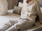 超長綿サテンパジャマ